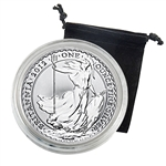 2012 Britannia 1oz Silver  - Uncirculated