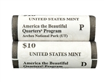 2014 Utah Arches National Park US Mint Government Rolls - P & D