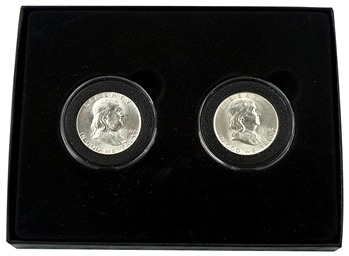 1950 Franklin Half Dollar PD Pair