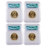 2014 Herbert Hoover Presidential Dollar - Four Piece Variety Set in MS67
