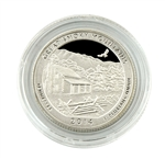2014 Tennessee Great Smoky Mountains Quarter - San Francisco - Silver Proof in Capsule
