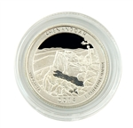 2014 Virginia Shenandoah National Park Quarter - San Francisco - Silver Proof in Capsule