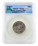 2012 Chaco Culture National Park Quarter - San Francisco - ANACS MS68