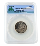 2012 Acadia Quarter - San Francisco - ANACS MS68