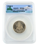 2012 Hawaii Volcanoes National Park Quarter - San Francisco  - ANACS MS68