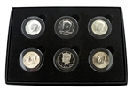 50th Anniversary Kennedy Half Dollar Collection - 6 piece set