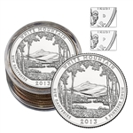 2013 New Hampshire White Mountain Quarter Collector's Roll - 5 P/5 D