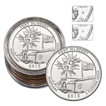2013 Maryland Fort McHenry Collectors Roll - 5P/5D