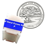 2014 Colorado Great Sand Dunes National Park Quarter - Philadelphia - Uncirculated Roll of 40