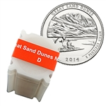 2014 Colorado Great Sand Dunes National Park Quarter - Denver - Uncirculated Roll of 40