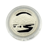 2014 Colorado Great Sand Dunes National Park Quarter - San Francsico - Silver Proof in Capsule