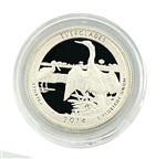2014 Florida Everglades National Park Quarter - San Francisco - Silver Proof in Capsule