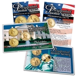 2014 Franklin D. Roosevelt Presidential Dollar Lens Set - Philadelphia, Denver, and San Francisco