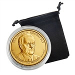 2014 Franklin D. Roosevelt Presidential Dollar - Denver - Uncirculated in a Capsule