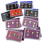 Crazy 8 Vintage Proof Sets - OGP