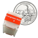 2014 Florida Evergaldes National Park Quarter Roll (40) - Denver - Uncirculated