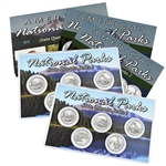 2014 National Parks Quarter Mania Set - Philadelphia and Denver - Uncirculated