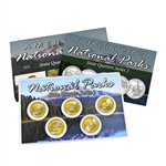 2014 National Parks Quarter Mania Set - San Francisco - Uncirculated - Gold Layered