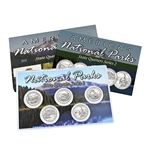 2014 National Parks Quarter Mania Set - Platinum Philadelphia