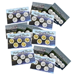 2014 Quarter Mania Sets - Ultimate 6pc - PD Gold Platinum