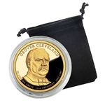 2012 Presidential Dollar Grover Cleveland 1st Term -  San Francisco - Proof in Capsule