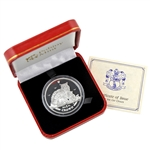 2015 Isle of Man Selkirk Rex - Proof Silver