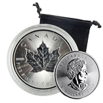 2015 Canadian Maple Leaf - 1 oz. Silver - Uncirculated