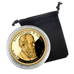 2011 Rutherford B Hayes Presidential Dollar - San Francisco - Proof in Capsule