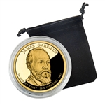 2011 James A. Garfield Presidential Dollar - San Francisco - Proof in Capsule