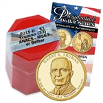 2015 Harry S. Truman Presidential Dollar - Certified Denver Mint Roll