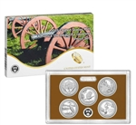 2015 America The Beautiful Proof Set - Quarters Only