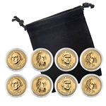2007 Presidential Dollar Set - Philadelphia and Denver - Capsules