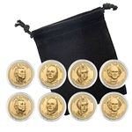 2008 Presidential Dollar Set - Philadelphia and Denver - Capsules