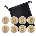 2010 Presidential Dollar Set - Philadelphia and Denver - Capsules