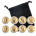 2011 Presidential Dollar Set - Philadelphia and Denver - Capsules