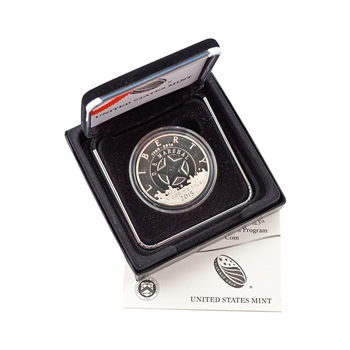2015 Federal Marshals Silver PROOF Dollar - OGP