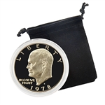 1978 Eisenhower Dollar - San Francisco - Proof - Capsule