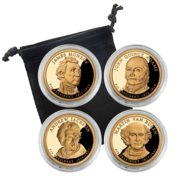 2008 Presidential Proof Set - San Francisco - Capsules