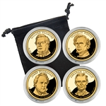2010 Presidential Proof Set - San Francisco - Capsules