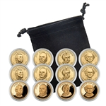 2008 Presidential Dollar Set - Philadelphia, Denver, and San Francisco - Capsules