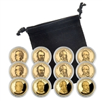 2011 Presidential Dollar Set - Philadelphia, Denver, and San Francisco - Capsules