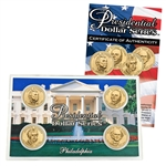 2008 Presidential Dollar Set - Philadelphia Mint - Lens