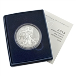 2015 Silver Eagle - West Point - Burnished - OGP