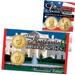 2015 Dwight D. Eisenhower Presidential Dollar - Philadelphia and Denver - Lens