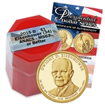 2015 Dwight D. Eisenhower Presidential Dollar - Certified Denver Roll