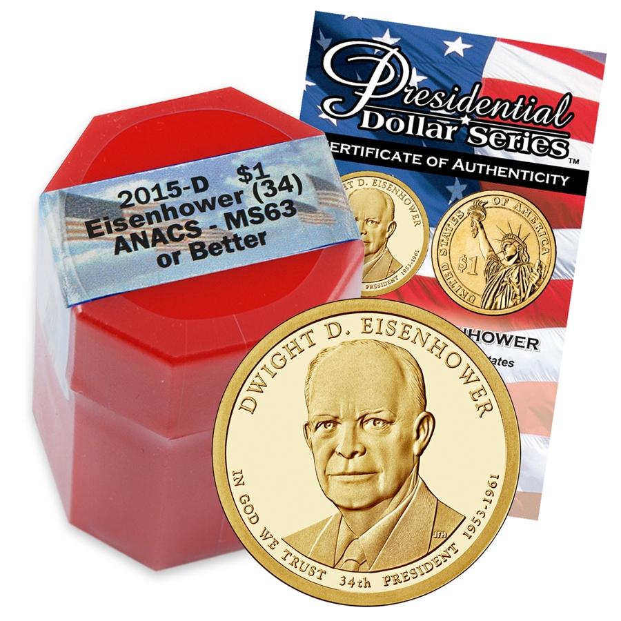 Executive Privilege Term: 2015 Dwight D. Eisenhower Presidential Dollar