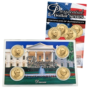 2008 Presidential Dollar Set - Denver Mint - Lens
