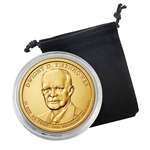 2015 Dwight D. Eisenhower Presidential Dollar - Denver - Capsule