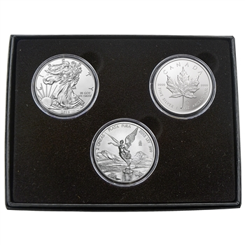 2015 North American Silver Trio Set Uncirculated