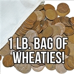 Midwestern Hoard 1 lb Bag of Wheat Cents